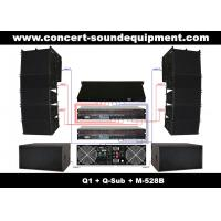 "Nightclub Sound Equipment , 480W Full Range Compact Line Array Speaker With 1.4""+2x10"" Neodymium Drivers"