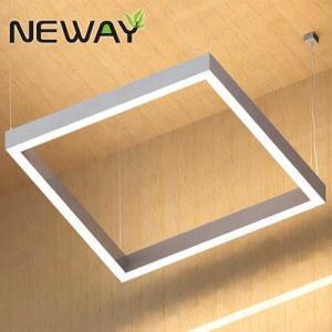 China Suspended Linear Square LED Direct Lighting Indirect Lighting Direct / Indirect Lighting Fixtures 3000K 3500K 4000K CCT on sale