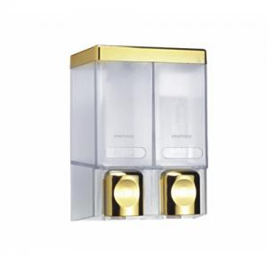 China cheaper style double head Soap dispensers for hotel bathroom toilet or supermarket store on sale