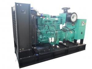 Quality Safety Frame Low Noise Diesel Generator Set , Diesel Engine Generator Set With Original Stamford Alternator for sale