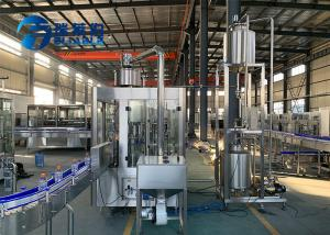 China Bottle Apple / Mango Fruit Juice Filling Machine High Technology More Efficient on sale