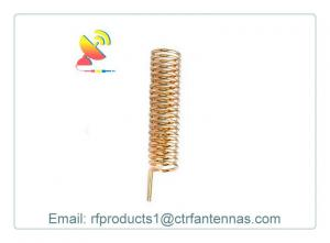 China Embedded Antenna 433Mhz Spring Helical Antenna for Wireless Modules Copper Wire Coil on sale