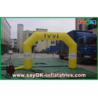 CE / UL Blower Custom Inflatable Arch PVC Material Water Proof
