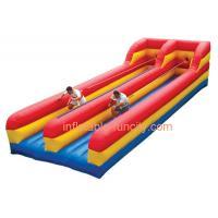 Beaux jeux gonflables de sports, équipement de course de Bungee pour le fonctionnement gonflable de Bungee de jeux