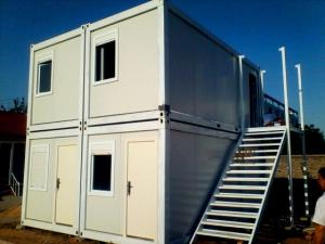 Galvanized Flexible Steel Container Houses Commercial Steel