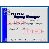 China Hino Reprog Manager V3.12 / Hino Diagnostic Software For Ecu Engine Progamming on sale