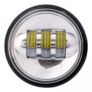 China Auto caaessories daytime running 4.5 inch led fog lamp 30w angel eyes motorcycle headlights on sale