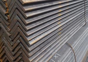 China ISO9001 Hot Rolled Angle Steel Length 6m / 9m 3.0mm  - 12.5mm Thickness on sale