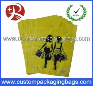 China BPA free Laminated Printed Polythene Bags Die Cut For Clothes on sale