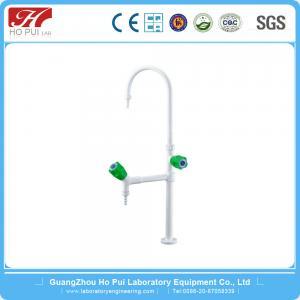 China Anti - Corrosion Brass Lab Fittings , High Grade PP Knob Handle Lab Faucet on sale