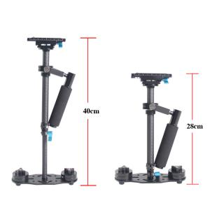 China DSLR Camera Shooting Handheld Stabilizer Steadycam 40CM Carbon Fiber Tube on sale