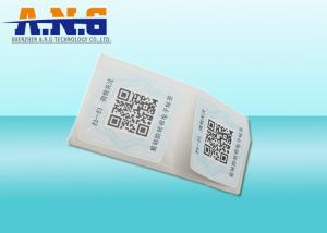 China Custom Monza 5 UHF RFID Tag 48 Bits For Security Management , Food Industry on sale