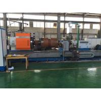 High Precision CNC Horizontal Lathe Machine / Roll Turning CNC Heavy Duty Lathe