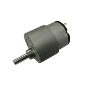 China Super Torque DC Gear Motor 60RPM 100RPM High Gauge Steel Housing D3323G37 on sale