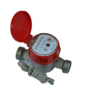 China Single jet remote reading water meter on sale