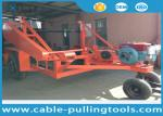 China 5T Multi function Full Cable Drum Trailer Other Tools With Water Cooled Diesel Engine wholesale