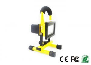 China Adjustable 10w Emergency LED Flood Light, Dimming Rechargeable LED Floodlight on sale