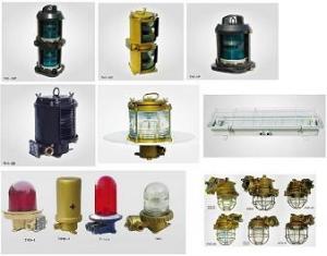 China Marine navigation signal light,fluroscent light,incandescent light,explosion-proof light on sale