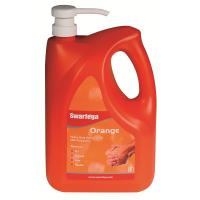 Swarfega Orange Heavy Duty Hand Cleaner For Grease / Ingrained Oil / General Grime