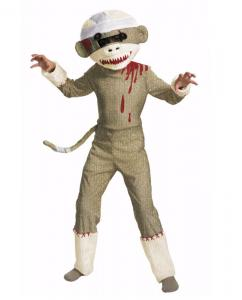 China Zombie Costumes Wholesale Zombie Sock Monkey Child Costume Wholesale from Manufacturer Directly on sale