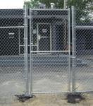 PVC Chain link fence ( Diamond wire mesh )