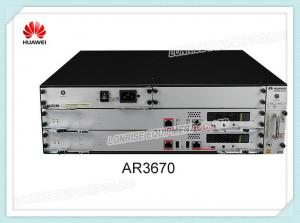 China Huawei AR3600 Series Router AR3670 2 SIC 3 WSIC 4 XSIC 700W AC Power on sale