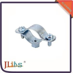 China Custom Cast Iron Pipe Clamps , Concrete Pipe Clamps One Side Open 135060 on sale