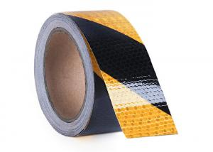 China Waterproof Safety Self - Adhesive Honeycomb Tape , Reflective Warning Tape on sale