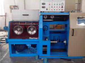 China 1.6mm High Speed Wire Drawing Machine 14DH Large Spool With AC 15.5KW Motor on sale