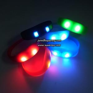 China Buy the newest LED PULSE Motion sensor light up wristbands bracelets on sale