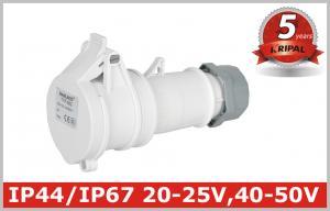 China 20V 25V 40V 50V Industrial Power Socket Pin and Sleeve Connector on sale