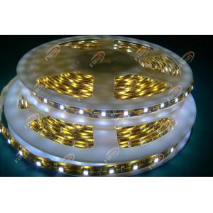 China Yellow Flexible FPC Energy Saving 3528 LED Strip Light for Car Decorative Lighting IP65 on sale