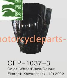 China KAWASAKI ZX-12R 2002 Windshield Pmma ABS Black Kawasaki Motorcycle Parts on sale