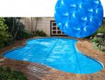 UV Protection Waterproof Swimming Pool Solar Cover For Rectangular Pool