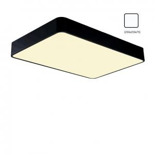 China Black 250x250mm 8W white high quality surface mounted LED Ceiling light on sale