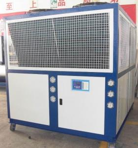 China Industrial Air Cooled Scroll Water Chiller Unit With Optional SANYO or Copeland Compressors RO-30A 87.2KW R22 on sale