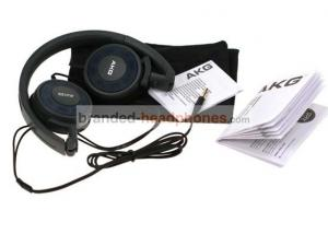 China Noise Cancelling Semi - Open Ultralinear 3.5mm K420 Mini AKG Foldable Headphones For CD Players on sale