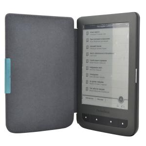 China PU Leather Ereader Pocketbook Case for Pocketbook Basic 2 Color Skin Cover on sale
