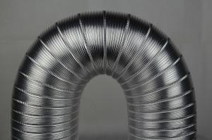 China OEM Transparent Flexible Semi-rigid Aluminum Duct Hose Tube With Easy Installation on sale