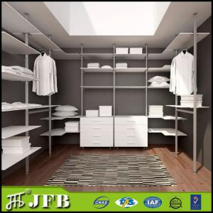 Customized Pole System Diy Walk In Wardrobe, Wardrobe Pole System, Aluminum  Pole System Wardrobe