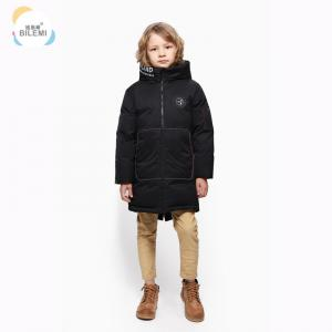 China Cheap Boys Clothes Winter Keep Warm Coat Go Outdoors Windproof Padded Kids Winter Long Boys Hooded Down Jacket on sale