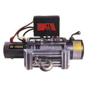 China 9500LBS 12V or 24V electric winches, wire rope pulling winch on sale