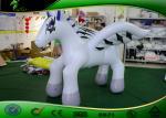 PVC inflable lindo 0.4m m de los personajes de dibujos animados del caballo de vuelo con la impresión de Digitaces