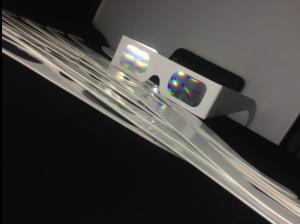 China Papier musical en verre de feux d'artifice de l'événement 3D avec l'impression faite sur commande on sale