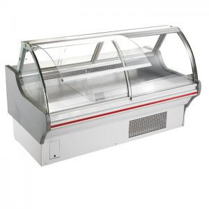 China Lifting Doors Deli Display Refrigerator Showcase R22 / R404a With Dynamic Cooling on sale