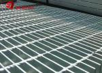 Welded Hot Dipped Galvanized Steel Grating Mesh Customized For Protecting
