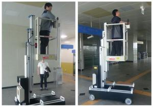 China GTWZ6-1006 Mobile Elevating Work Platform Self Propelled For Quick Maintenance on sale