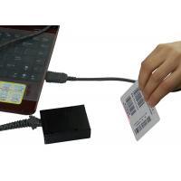 Small Laser 1D Barcode Scanner , USB Mini Square Barcode Reader For Supermarket