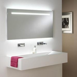 China USA fancy LED illuminated mirror for hotel on sale