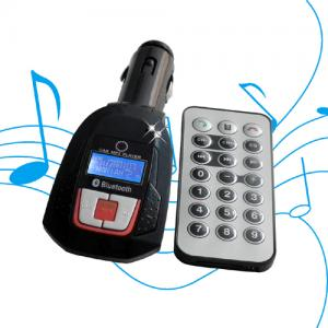 China Supports Bluetooth instructions car mp3 player fm transmitter LCD display USB BT-C504 on sale
